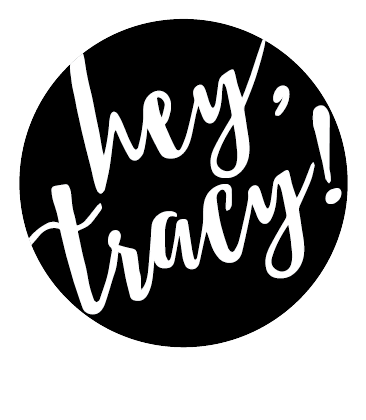 Hey, Tracy! logo